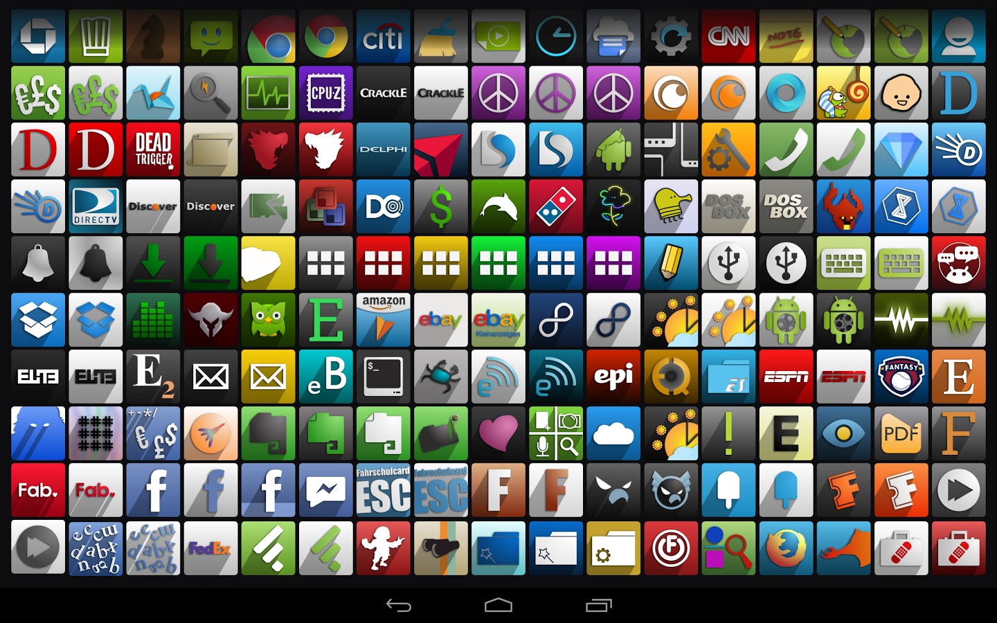 Android Smartphone Apps List
