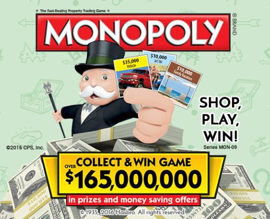 play monopoly safeway