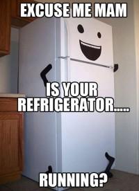 refrigeratorrunning